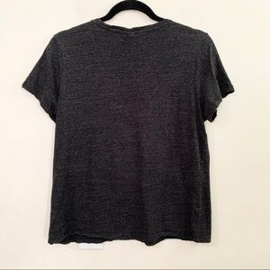 H&M Tops - H&M Basics Charcoal Gray Short Sleeve T-Shirt